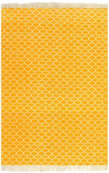 VidaXL coton Kilim 120 x 180 cm yellow