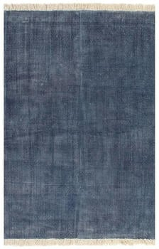 VidaXL Cotton blue Kilim 160 x 230 cm