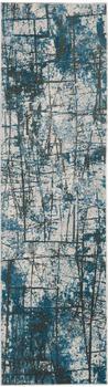 Calvin Klein Vapor CK972 66x229cm blau-grau