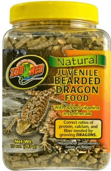 Zoo Med Juvenile Bearded Dragon Food 283g