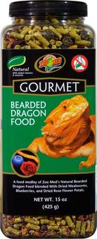 Zoo Med Gourmet Bearded Dragon Food 383 g