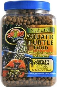 Zoo Med Natural Aquatic Turtle Food Growth Formula 1,53 kg