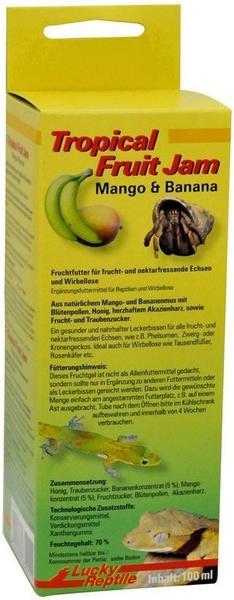 Lucky Reptile Tropical Fruit Jam - Mango & Banane 100ml