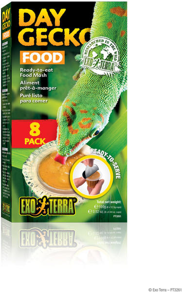 Exo Terra Day Gecko Food 4er Pack