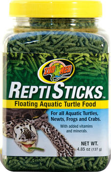 Zoo Med ReptiSticks Floating Aquatic Turtle Food 141 g