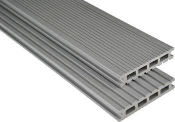 Kosche Kovalex-Bodendiele Exklusiv grau mattiert 400 x 14.5 cm (1 Stück)