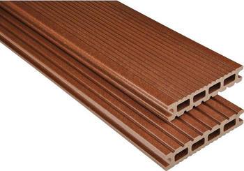 Kosche Kovalex-Bodendiele Exklusiv braun mattiert 350 x 14.5 cm (1 Stück)