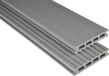 Kosche Kovalex-Bodendiele Exklusiv grau mattiert 300 x 14.5 cm (1 Stück)