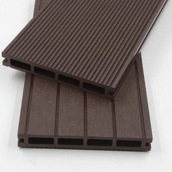 Home Deluxe WPC Terrassendielen 220 x 14,6 cm (4m²) dunkelbraun