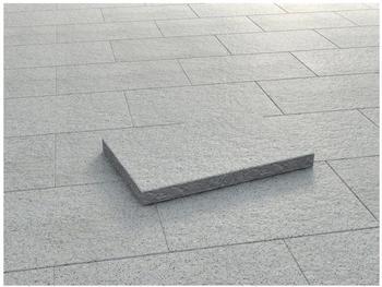 KANN Mailand weiß-schwarz 60 x 40 x 5 cm