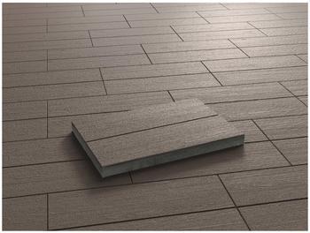 KANN Beton Holzdiele dunkelbraun 60 x 40 x 4.4 cm