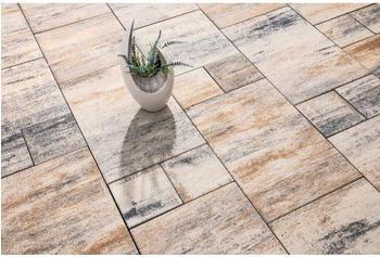 Diephaus Beton Terrassenplatte iStone Modern Plus muschelkalk Mehrformat Stärke 5cm