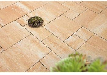 Diephaus Beton Terrassenplatte iStone Modern Plus sandstein Mehrformat Stärke 5cm