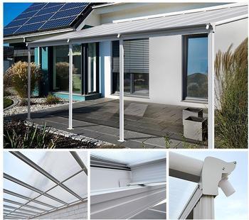 Home Deluxe 8400 Terrassenüberdachung (618x206x33cm)