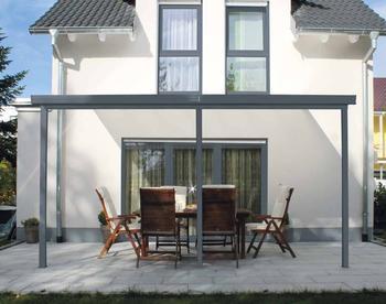Gutta Terrassenüberdachung anthrazit (426 x 306 cm)