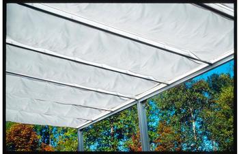 Beckmann Trend Gr. 3 435 x 250 cm weiß/anthrazit