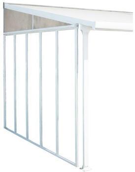 Palram Martina Terrassenüberdachung Seitenwand weiß