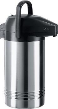 Emsa PRESIDENT Pump-Isolierkanne edelstahl/schwarz 3,0 l