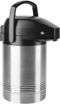 Emsa PRESIDENT Pump-Isolierkanne edelstahl/schwarz 2,0 l
