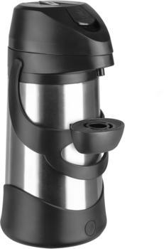 Emsa Presto Pump-Isolierkanne 1,9 l edelstahl / schwarz