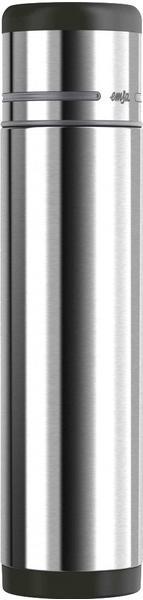 Emsa Mobility Isolierflasche 0,7 l Edelstahl/schwarz