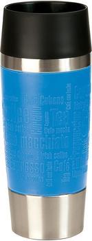 Emsa Travel Mug Isolier-Trinkbecher 0,36 l wasserblau