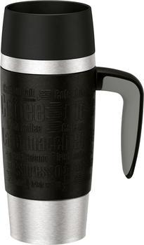 Emsa Travel Mug Handle 0,36 l schwarz
