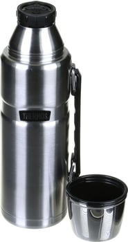 Thermos King Isolierflasche silber 1,2 l