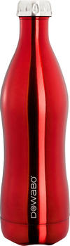Dowabo Isolierflasche rot 0,75 l