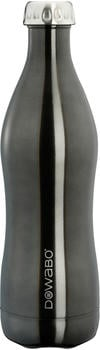 Dowabo Isolierflasche schwarz 0,75 l