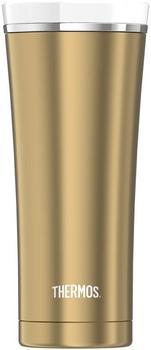 Thermos Thermobecher Premium 475 ml gold white