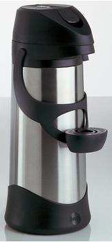 Emsa Presto Pump-Isolierkanne 3,0 l edelstahl / schwarz