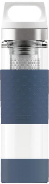 SIGG Hot & Cold Thermosflasche 0,4 l dunkelblau