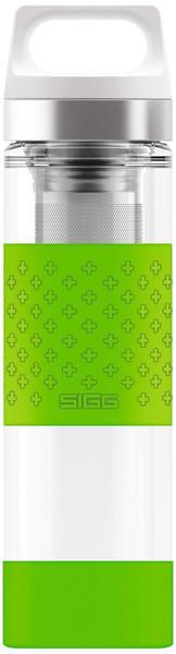 SIGG Hot & Cold Thermosflasche 0,4 l grün
