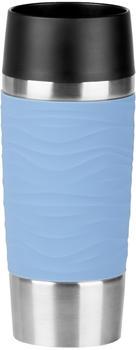 Emsa Travel Mug Waves Thermobecher 0,36 L puderblau