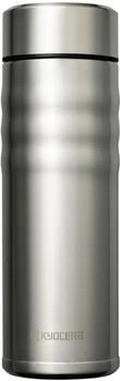 Kyocera Twist Top Thermo-Trinkflasche 500 ml silber
