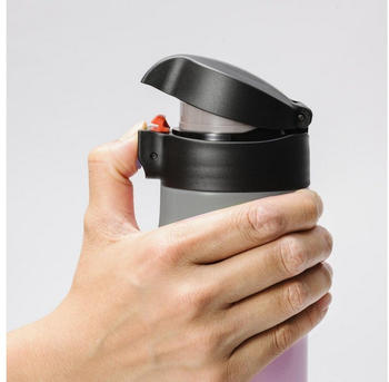 Kyocera Flip TOP Thermo-Trinkflasche 350 ml Edelstahl