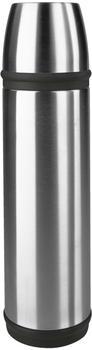 Emsa CAPTAIN Basic Mobil Isolierflasche 0,7 l edelstahl/schwarz