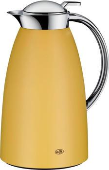 alfi Isolierkanne Gusto 1,0 l Edelstahl gelb