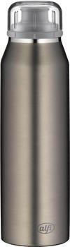 alfi Thermoflasche Pure 0,5l grau