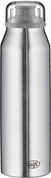 alfi Thermoflasche Pure 0,5l Edelstahl matt