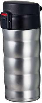 Hario V60 Soto Mug metallic Silber glänzend
