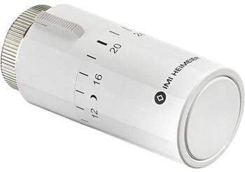Heimeier Halo Thermostatkopf ohne Nullstellung weiß