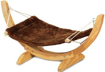 Silvio Design Katzen-Hängematte Relax braun-beige
