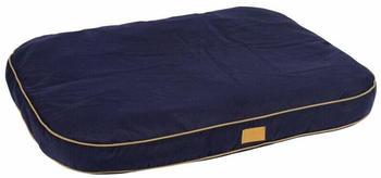 kerbl-pet-cushion-jerome-dark-blue-cognac-60-x-40-x-6-cm-81312