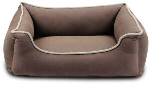Wolters Eco Well Hunde Lounge 100x80x22cm braun/beige