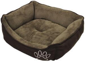 Nobby Hundebett Classic eckig Mero braun 65x51x18cm