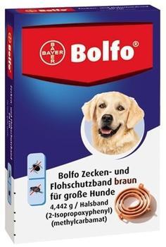 Bayer Bolfo Flohschutzband braun für große Hunde 65cm