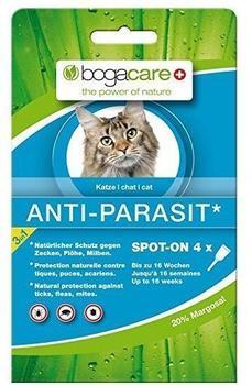 Schmidt Pharma Bogacare Anti Parasit Spot On Katze 4 x 0,75 ml