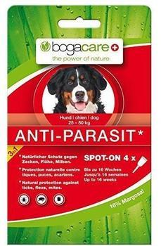 Schmidt Pharma Bogacare Anti-Parasit Spot-On für große Hunde 4x2,5ml